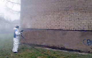 Fasadų plovimas