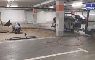 Atskirtuvo parkinge aptarnavimas