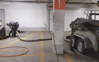 Požeminių parkingų gaudyklių aptarnavimas