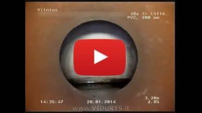 Televizinė vamzdynų diagnostika 1